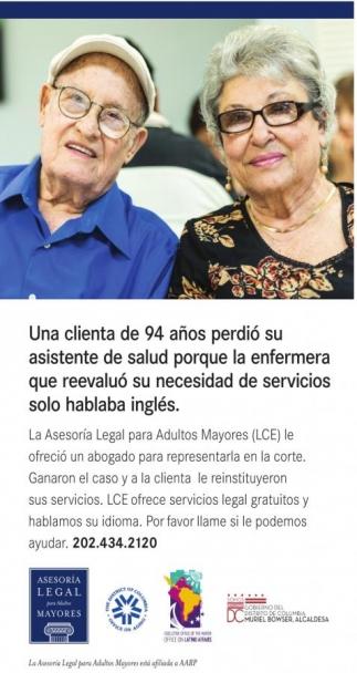 Asesoría Legales para Mayores