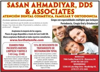 Atención Dental Cosmética, Familiar y Ortodoncia