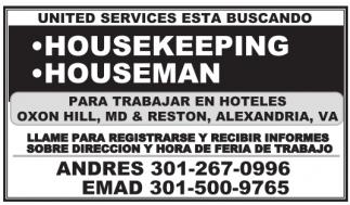 Housekeeping, Houseman