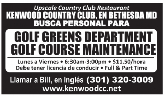 Golf Greens Department / Golf Course Maintenance