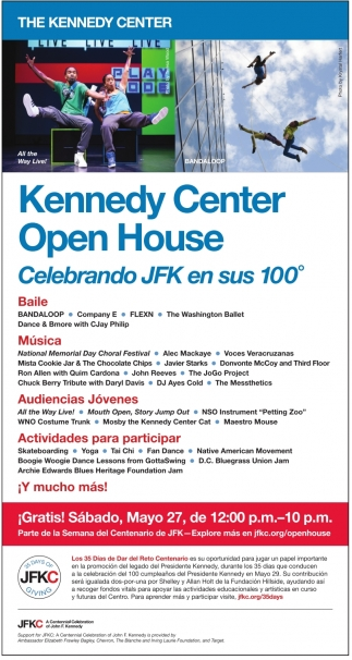 Kennedy Center Open House