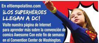 ¡Los Superheroes llegan a DC!