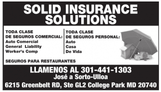 Solid Insurance Solutions