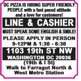 Line & Cashier