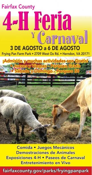 4-H Feria Y Carnaval