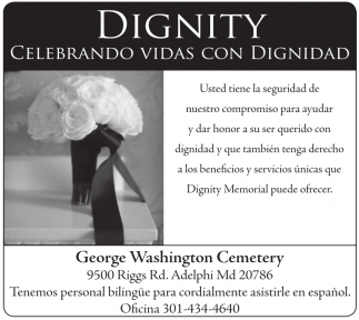 Celebrando Vidas con Dignidad