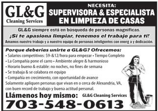 Supervisoras y Especialista