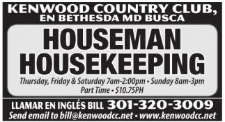 Houseman / Housekeeping