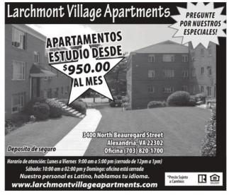 Apartamentos Estudio Desde $950 al mes