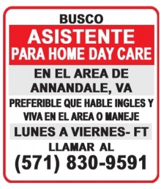 Asistente para Home Daycare