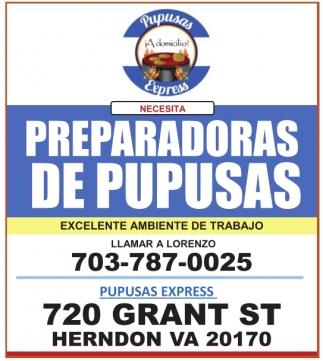 Preparadoras de Pupusas / Drivers