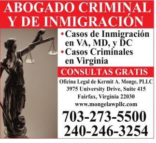 Abogado Criminal Y De Inmigración