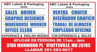 Experience & English Needed