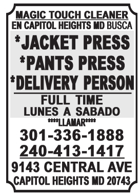 Jacket Press / Delivery Person / Delivery Person