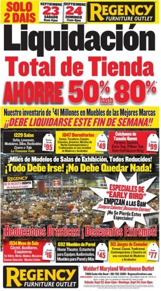 Liquidación Total De Tienda