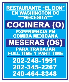 Cocinera(o) / Meseras