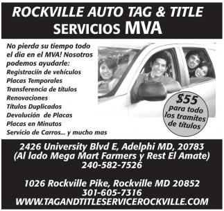 Servicios MVA