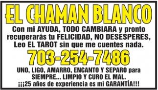 El Chaman Blanco
