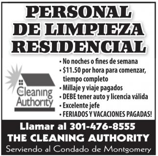 Limpieza Residencial