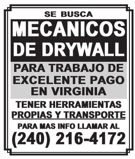 Mecanicos De Drywall