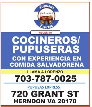 Cocineros/Pupuseras